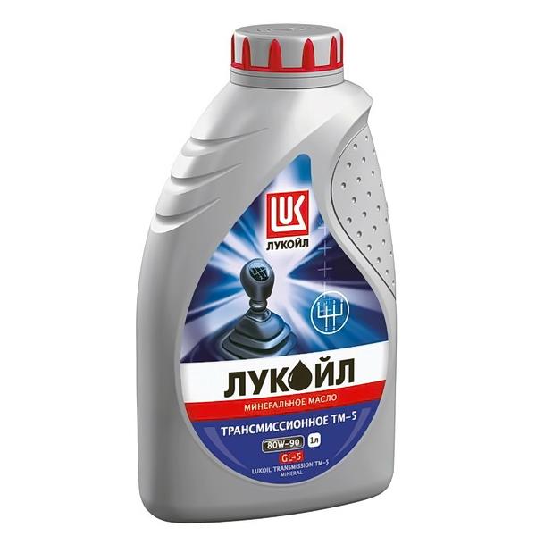 Масло трансмиссионное ЛУКОЙЛ ТМ-5 минеральное 80W90 1л
