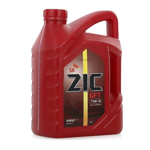 Масло трансмиссионное ZIC GFT синтетическое 75W90 4л