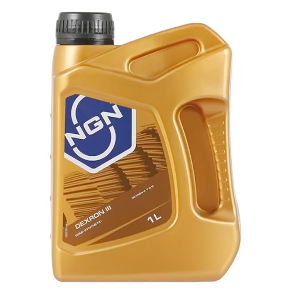 Масло NGN ATF-Dextron-3-АКПП полусинтетическое 1л