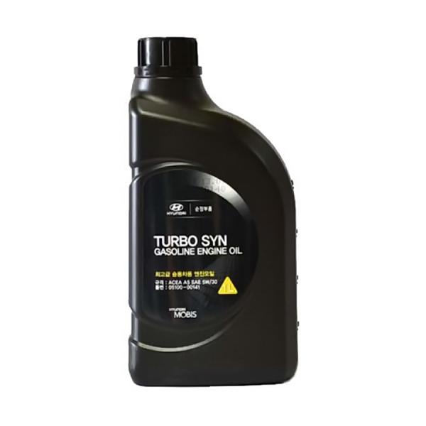 Масло моторное HYUNDAI TURBO-SYN-SL/GF-4/A5 510000141 синтетическое 5W30 1л