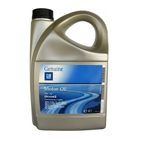 Масло моторное General Motors DEXOS2-LONGLIFE 1942002 синтетическое 5W30 4л