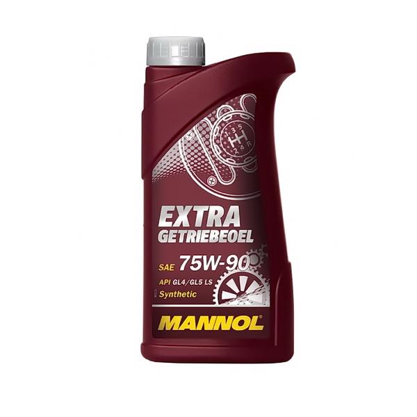 Масло MANNOL трансмиссионное GL-4/GL5 Extra Getriebeoel синтетическое 75W90 1л