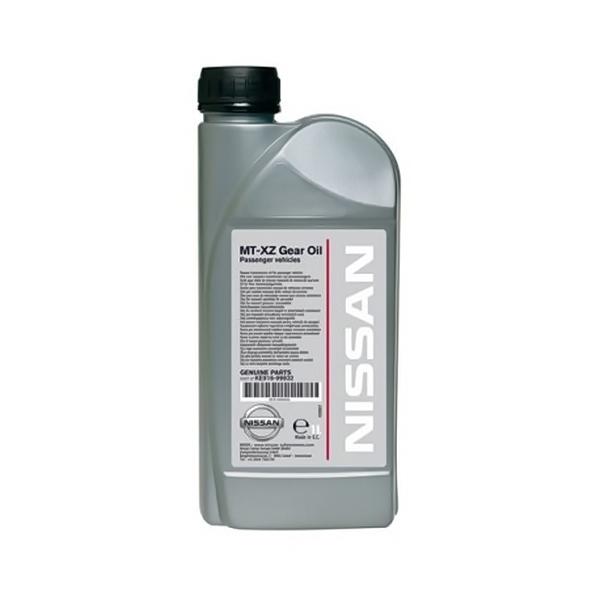 Масло трансмиссионное NISSAN MT-XZ GEAR OIL GL-4 75/80 KE91699932 синтетическое 75W80 1л