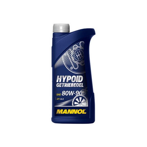 Масло MANNOL трансмиссионное GL-5 HYPOID  минеральное 80W90 1л