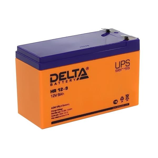 Аккумулятор DELTA 12V 9 A.ч HR 12-9L
