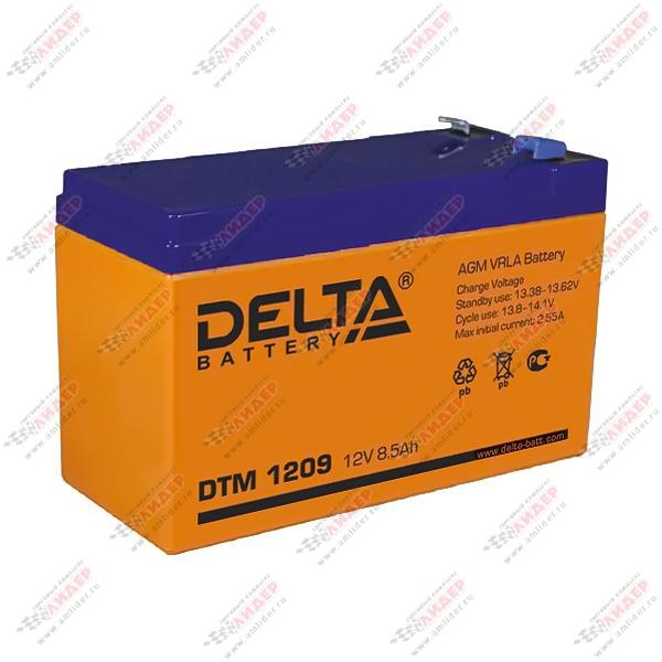 Аккумулятор DELTA 12V 9A.ч  DTM 1209