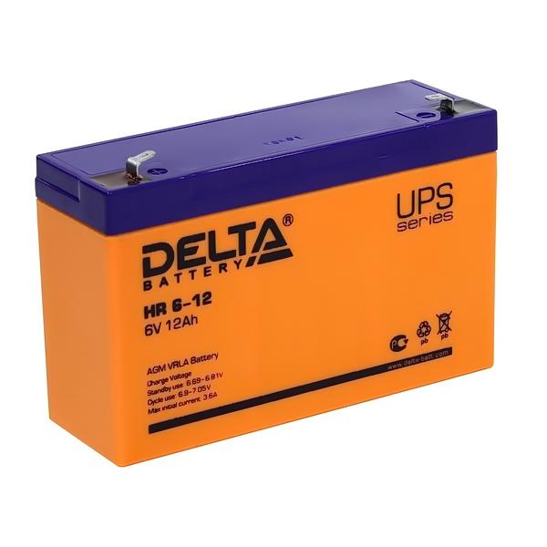 Аккумулятор DELTA 6V 12 A.ч HR 6-12
