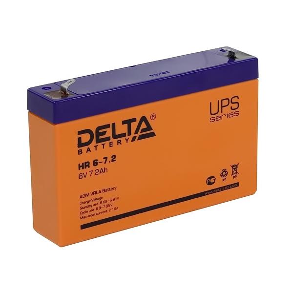 Аккумулятор DELTA 6V 7,2 A.ч HR 6-7,2