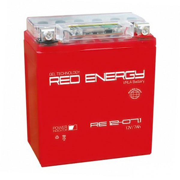 Аккумулятор Red Energy 12V 7Ач DS 12-07.1