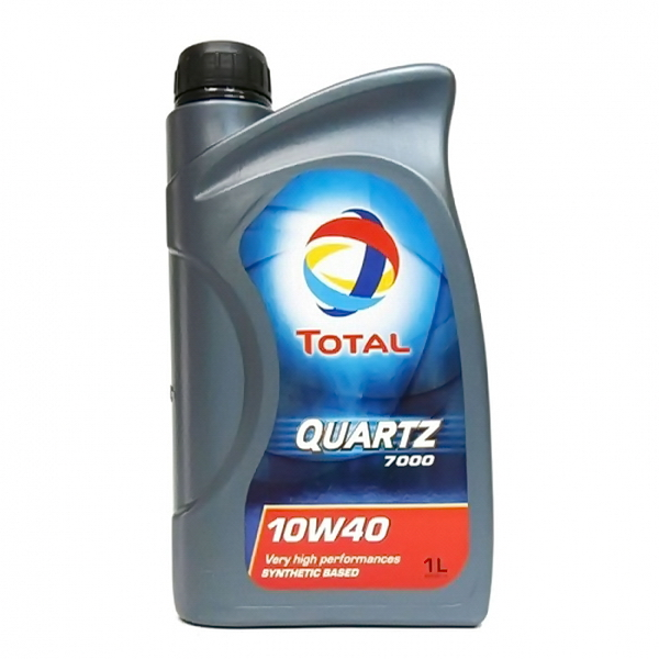 Масло моторное TOTAL QUARTZ-7000 полусинтетическое 10W40 1л