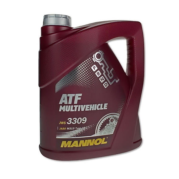 Масло MANNOL трансмиссионное ATF Multivehicle 8210 4л