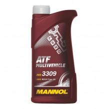 Масло MANNOL трансмиссионное ATF Multivehicle 1л