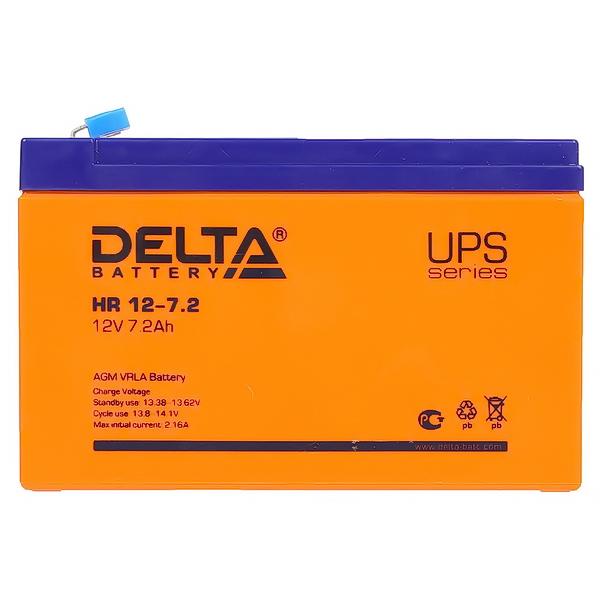 Аккумулятор DELTA 12V 7А.ч HR12-7.2