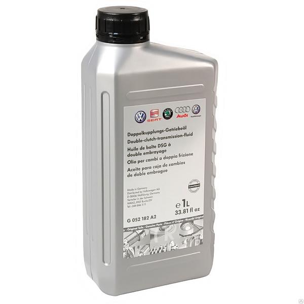 Жидкость трансмиссионное VW Getriebeoil ATF АКПП G052182 A2 DSG синтетическое 1л