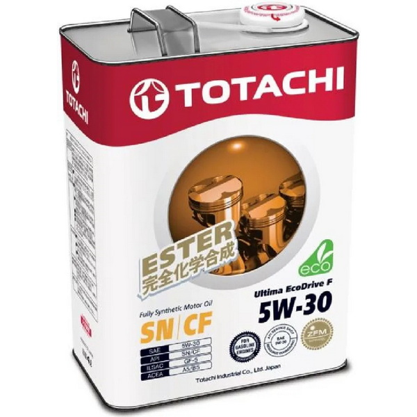 Масло моторное TOTACHI Ultima-EcoDrive-F-SN/CF синт. 5W30 4л