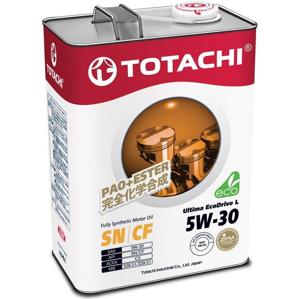 Масло моторное TOTACHI Ultima-EcoDrive-L-SN/CF синт. 5W30 4л